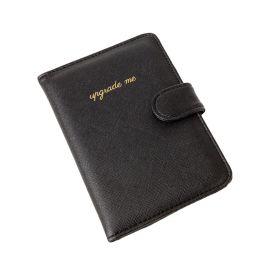 Black Saffiano Passport Carry Case