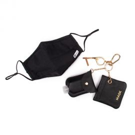 No Touch Tool Keychain Set with Sanitizer Bottle