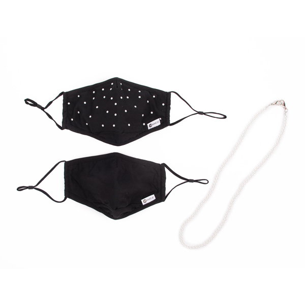 Face Masks and Holder - Pearl